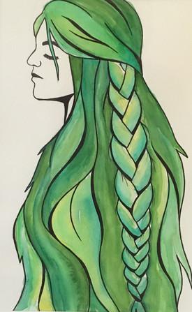 Half - Hair Series