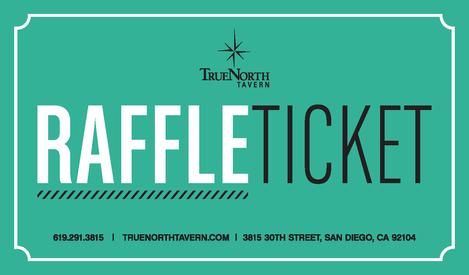 Raffle Ticket - Front