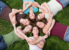 Bonding, health friendships, support