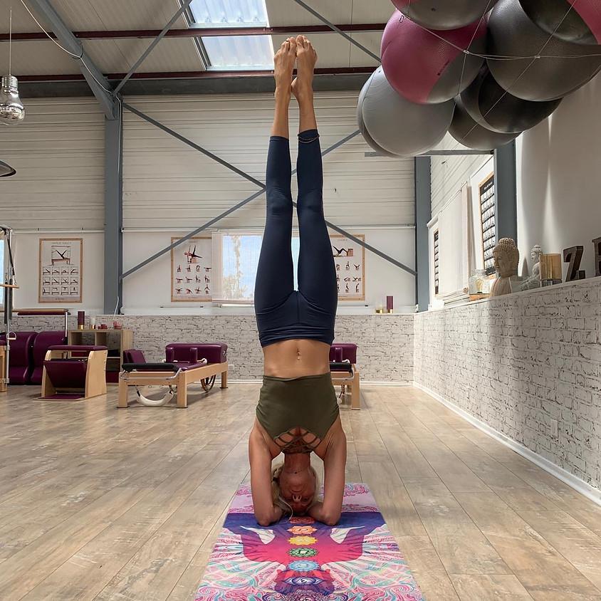 Atelier Yoga sur les Inversions avec Corinne