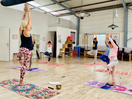 Nouveau : Cours Yoga Enfant avec Corinne