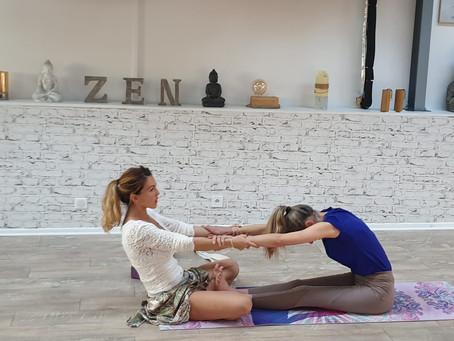 Atelier d'initiation Énergétique & de Yogathérapie avec Axelle