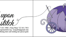 Business Cards | Once Upon A Stitch