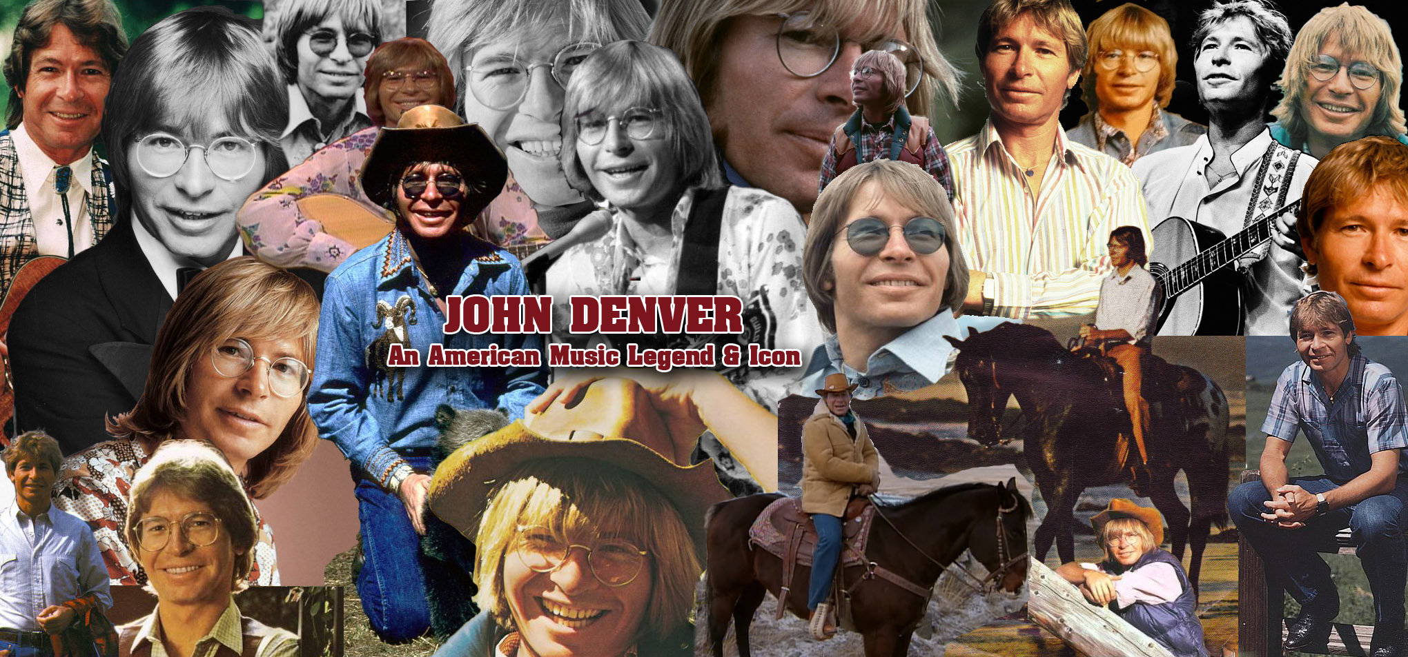 John Denver Collage
