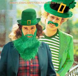 Simon and Garfunkel as leprechauns