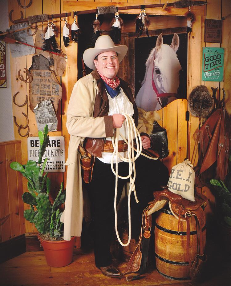 William at Grandpa's Antique Photo Studio on August 17th in 2015 1