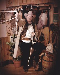 William at Grandpa's Antique Photo Studio on August 17th in 2015 2