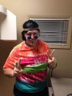 Dr. Sheets looking groovy!