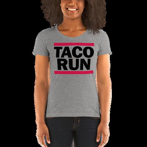 TACO RUN - Women's Tri-blend Short Sleeve T-shirt