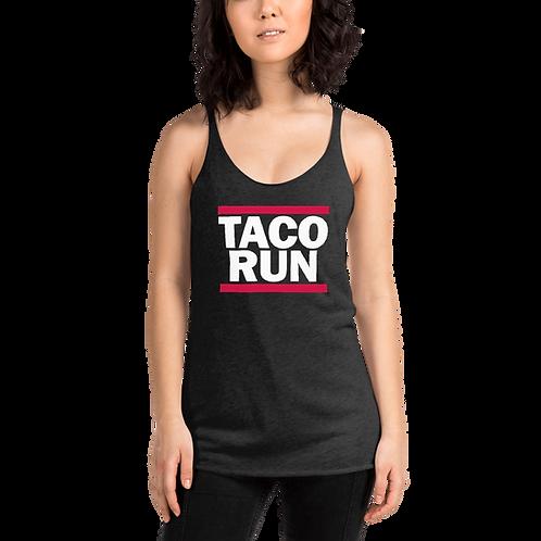 TACO RUN - Women's Racerback Tank