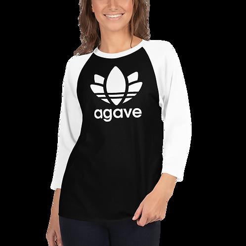 AGAVE - Unisex 3/4 Sleeve Raglan Shirt