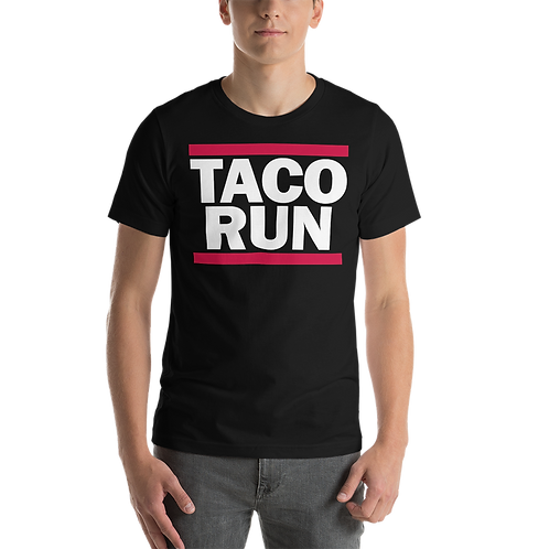 TACO RUN - Unisex Cotton Short-Sleeve T-shirt