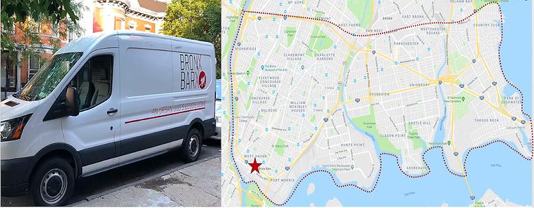 Bronx Barx transportation service pick u
