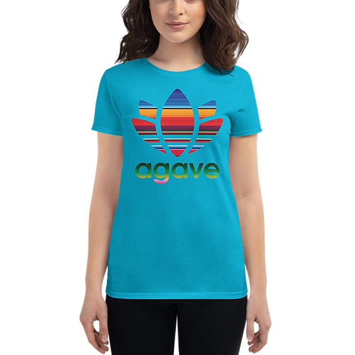 PATTERN AGAVE - Women's Short Sleeve T-shirt