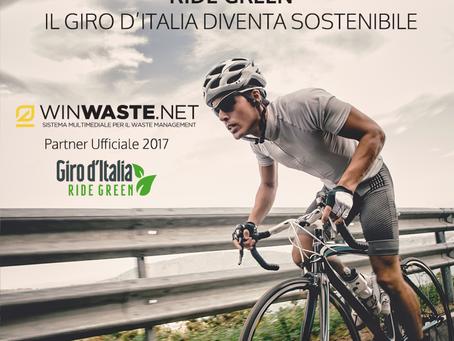 WinWaste Partner del 100mo giro d'Italia