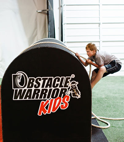 Ninja Obstacle Warrior Kids Party