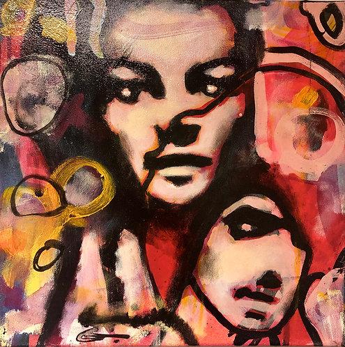 Espen Eiborg - Maleri Dream II