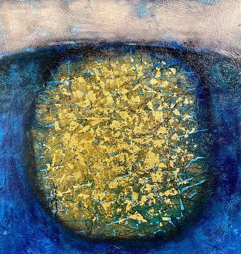 Golden Egg Blue - Espen Eiborg UNIKA