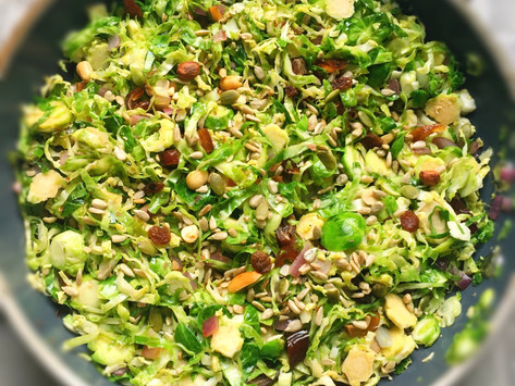 Shredded Balsamic Brussel Sprouts
