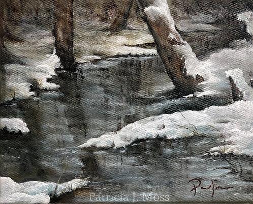 Rock Creek 8x10 Oil on Canvas