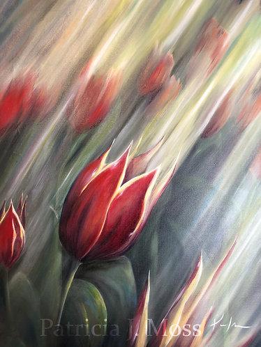 Rebirth 18x24 Oil on Canvas