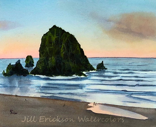 """Cannon Beach II"" 9x11"
