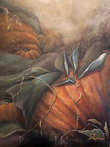 Harvest Blessing 16x20 Oil on canvas
