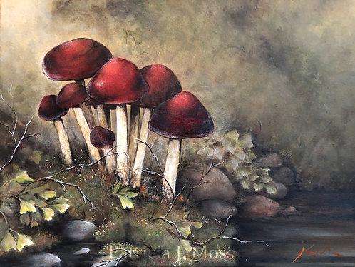 Quiet Moments 20x16 Oil on canvas original