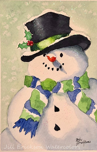 Seahawks Snowman