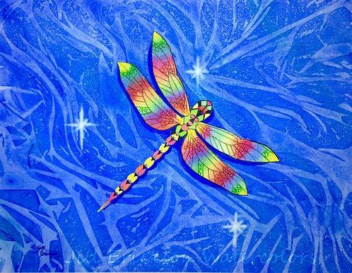"""Dragonfly"" 11x14 Original"