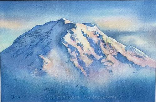 """""""Mt. Rainier"""" 9x13 Original"""