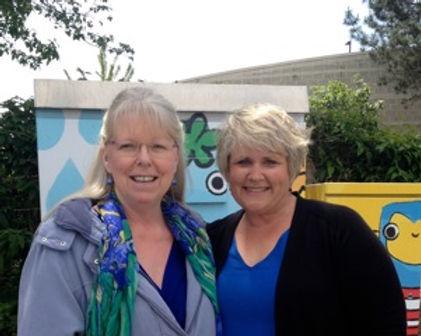 Jill Erickson Artist and Kent Mayor Dana