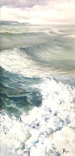 Crescendo 24x48 Original oil on canvas