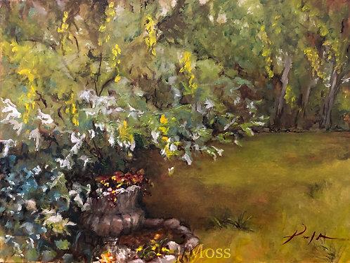 After the Rain 9x12 oil on canvas unframed