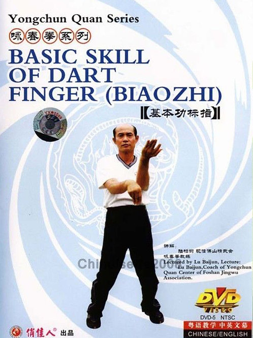 Yong Chun Quan - Basic Skill of Dart Finger (Biao Zhi)