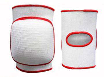 Judo Elasticated Knee Pad - Large