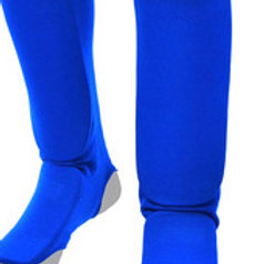 Shin & Instep blue elasticated - Medium