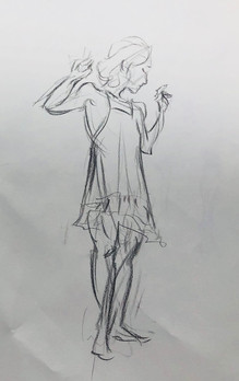 Figure Drawing Pose 4