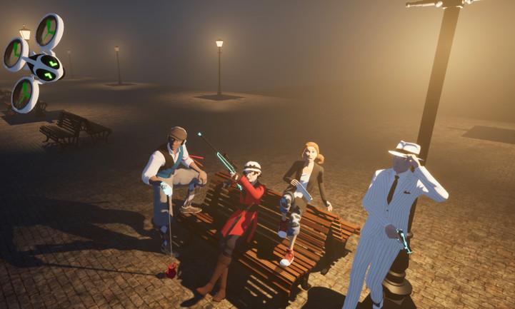 Roarin' 2K volumetric fog test (UE4) 2