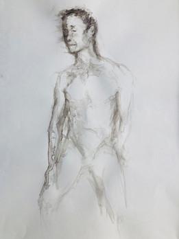 Figure Drawing Pose 6