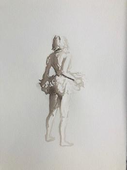 Figure Drawing Pose 1