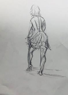 Figure Drawing Pose 3