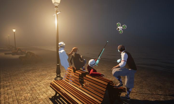 Roarin' 2K volumetric fog test (UE4) 3