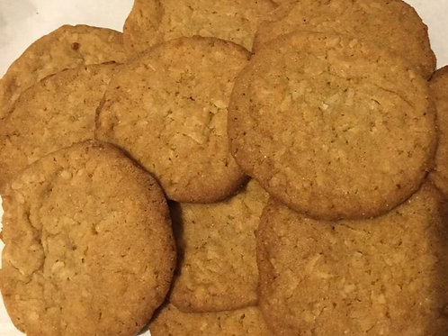 Coconut Cookies - Pick up or Shipping Fee Option