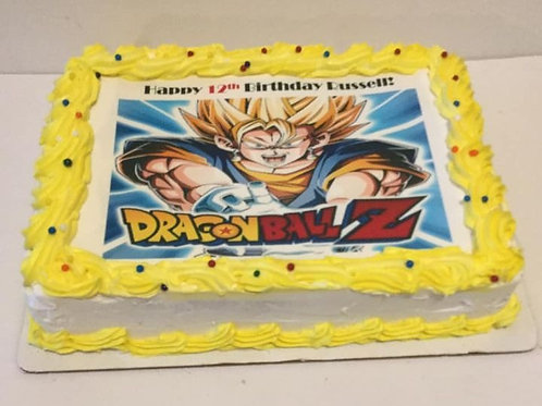 Dragon Ball Z- This Cake Does not ship