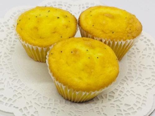 Lemon Poppy Seed  Jumbo Muffins