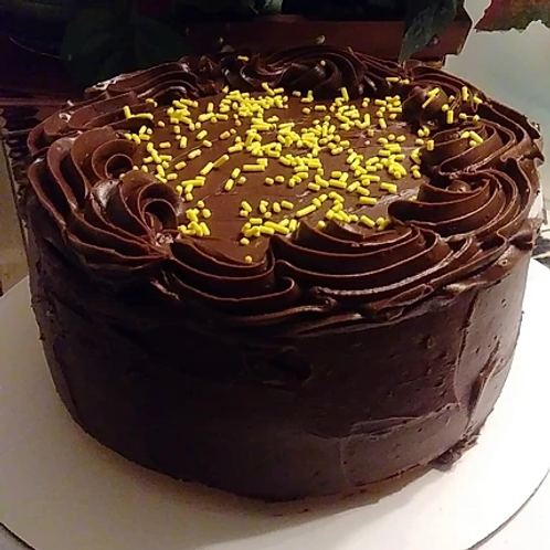Chocolate Lemon Drop Cake