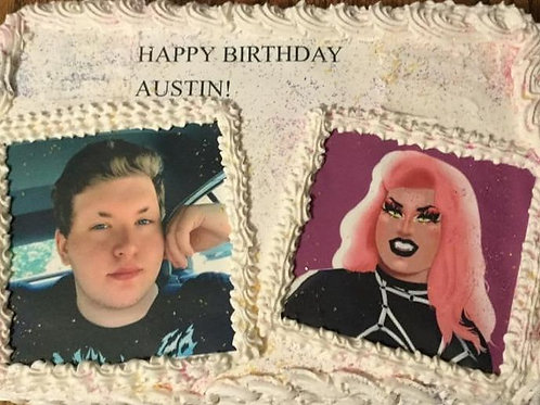 Photo Memory Cakes - Price Based on Cake options- Cakes do not ship