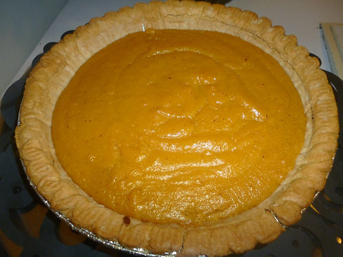 Classic Sweet Potato Pie-  Local Pick up or Shipping Fee Option