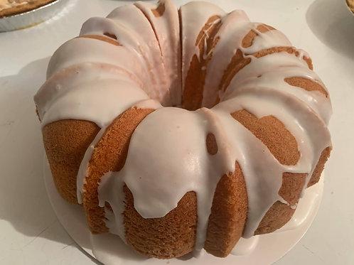Strawberry & Cream Pound Cake
